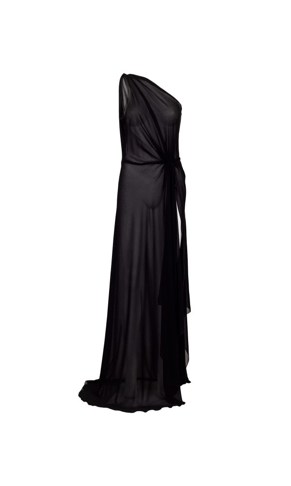 Alina sort design kjole