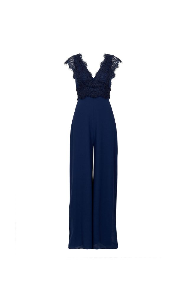 Viola Jumpsuit Lace Design